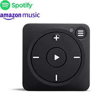 Mighty Vibe Spotify Music Player - Bluetooth & Wired Headphones - 1,000+ Song Storage - No Phone Needed - Black