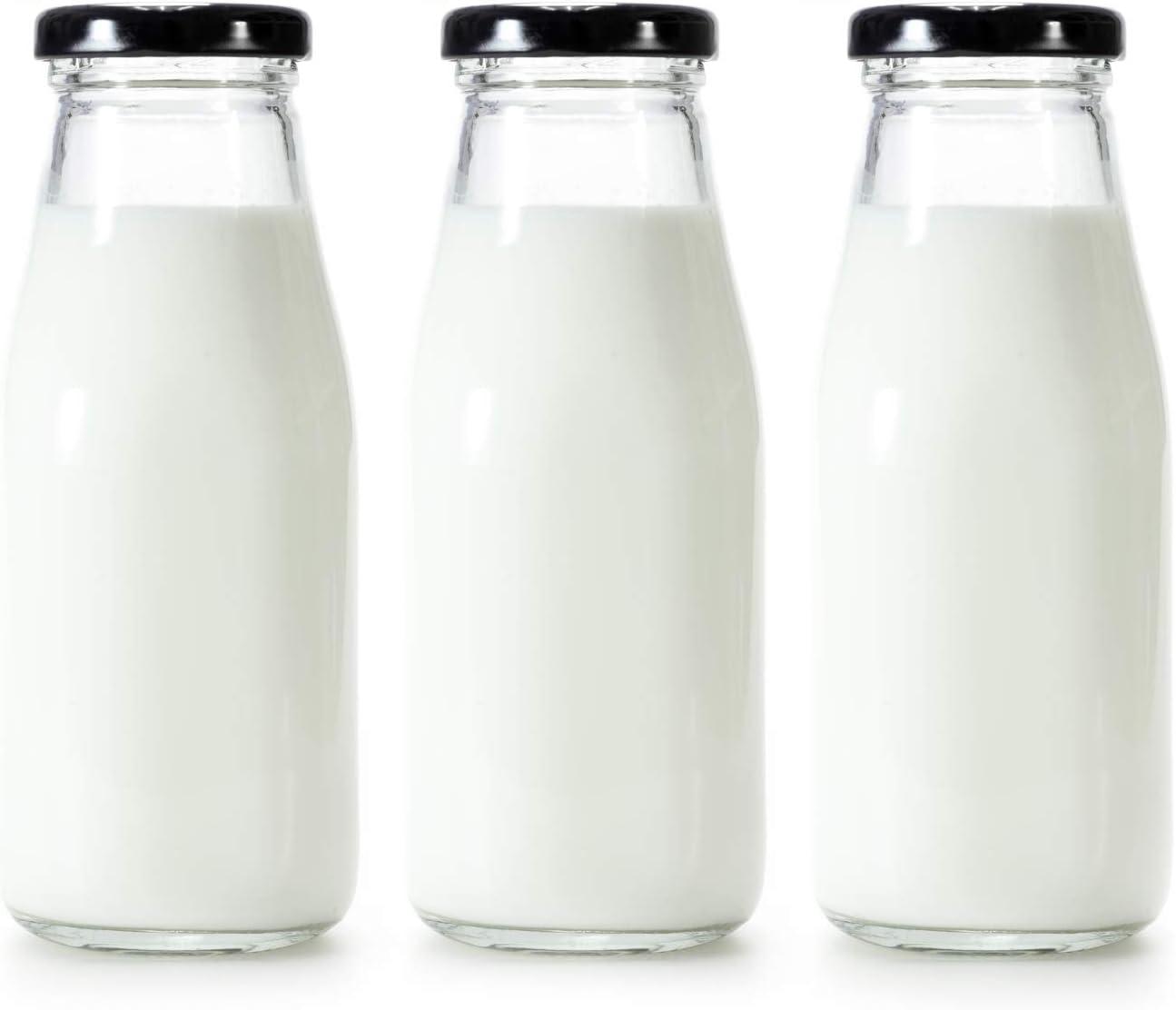 1 brosse /à paille pour int/érieur et ext/érieur 1 paille Lot de 2 bouteilles deau en carton de lait transparent mignonnes pour enfants avec 50 autocollants 1 brosse