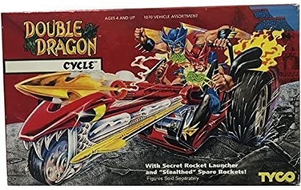 Amazon Com Tyco Double Dragon Cycle With Secret Rocket Launcher
