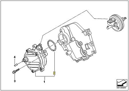 Amazon Com Bmw Vacuum Pump Seal Kit 11667545384 V8 E65 E66 E53 E70