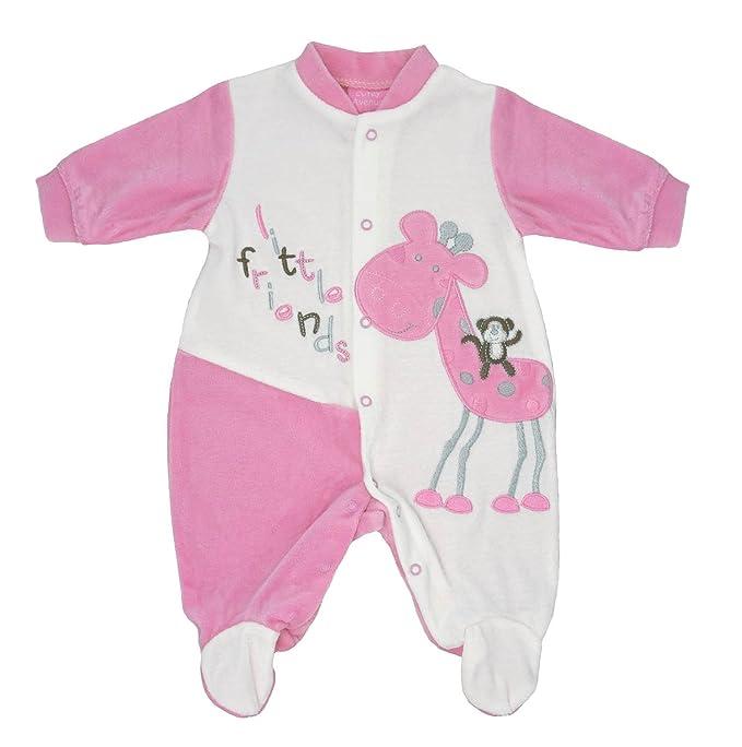 cutey avenue - Pelele - para bebé niño rosa Rose: Amazon.es: Ropa y accesorios