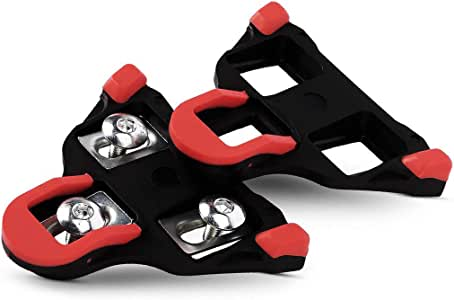 Road Bike Cleats 6 Degree Float Bicycle Cleats, For Indoor Cycling or Road Bike Bicycle Pedals 2019
