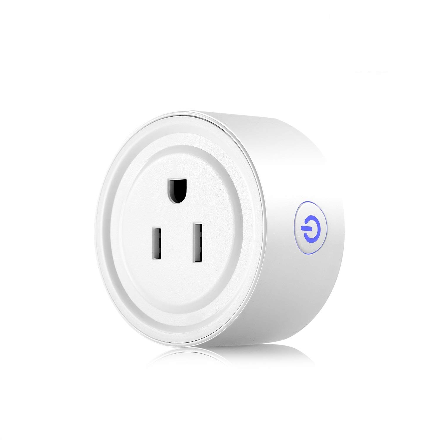 Apromio Round 10A Wi-Fi Enabled Mini Socket Works with Amazon Alexa Google Home Smart Plug