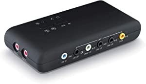 LEAGY USB 7.1 External Sound Card (8-Channel) - 7.1 Channel USB Soundbox - Dynamic 3D Surround Sound - UP to 8 Speakers - Simultaneous Recording and Playback - Analog and Digital Audio Equipment