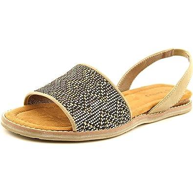 71c8bba46d2a Bearpaw Womens Meeka Open Toe Casual Flat Sandals