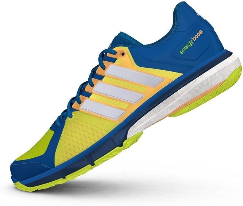 adidas Tennis Energy Boost, Zapatillas de Tenis Unisex Adulto, Azul (Azuuni/Ftwbla/Amasol), 39 1/3 EU: Amazon.es: Zapatos y complementos