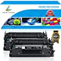 True Image 2 Packs CF226X 9,000 Pages Compatible for HP 26A CF226A 26X CF226X Toner Cartridge for HP Laserjet Pro M402 M402n M402dn M426fdn MFP M426 M426fdw Toner M402D M402dw M426dw Printer Ink Toner
