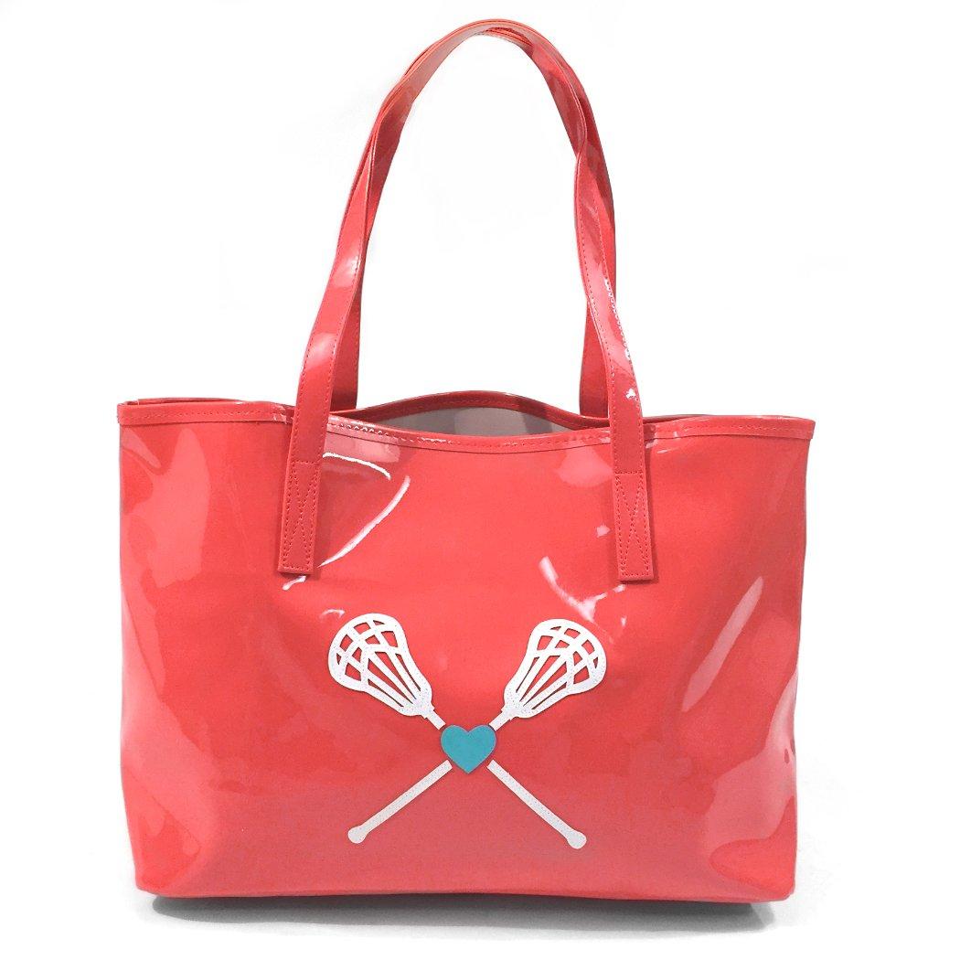 ChalkTalkSPORTS Lacrosse My Heart Lacrosse Tote Bag - Kali