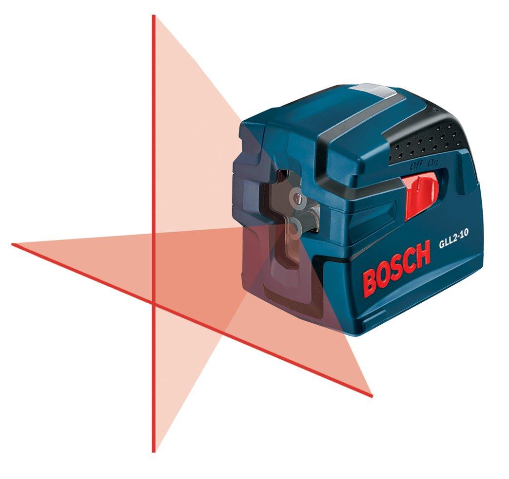 Bosch GLL2-10 30-ft Self-Leveling Cross-Line Laser: Amazon.co.uk ...