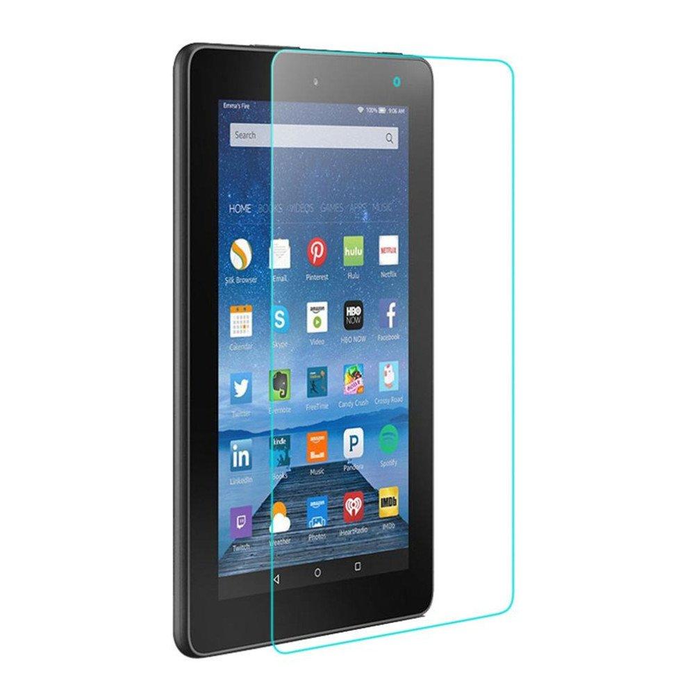 elaco強化ガラススクリーンプロテクターFlim for Amazon Kindle Fire HD 7 2015タブレット   B01N5B9A1V