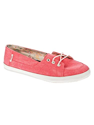 Vans Palisades Vulc, Chaussures de Sports Aquatiques Femme - Rouge -  (Washed) caylpso