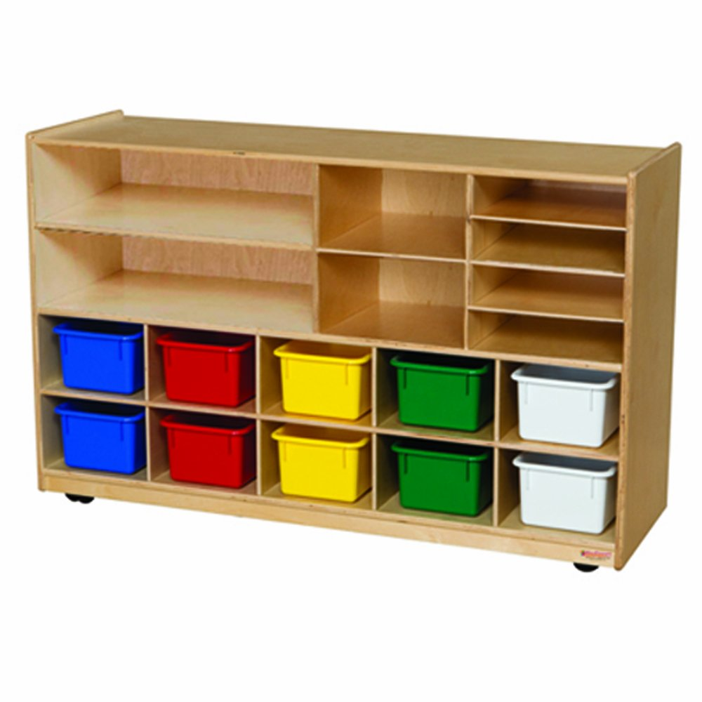 Wood Designs WD62903 Versatile Storage with 10 Assorted Trays