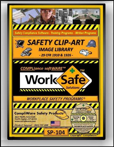 SP-104 - SAFETY CLIP-ART LIBRARY – OSHA - 29 CFR 1910 1926 - UPC - 639737374919