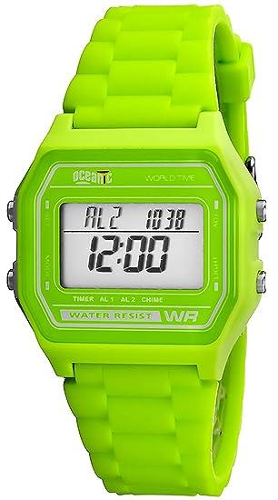 Oceanic Universal Reloj, Digital,2x Alarma,Cronómetro,Resistente al agua 100m, Hora mundial, OD6Y7N4/2: Amazon.es: Relojes