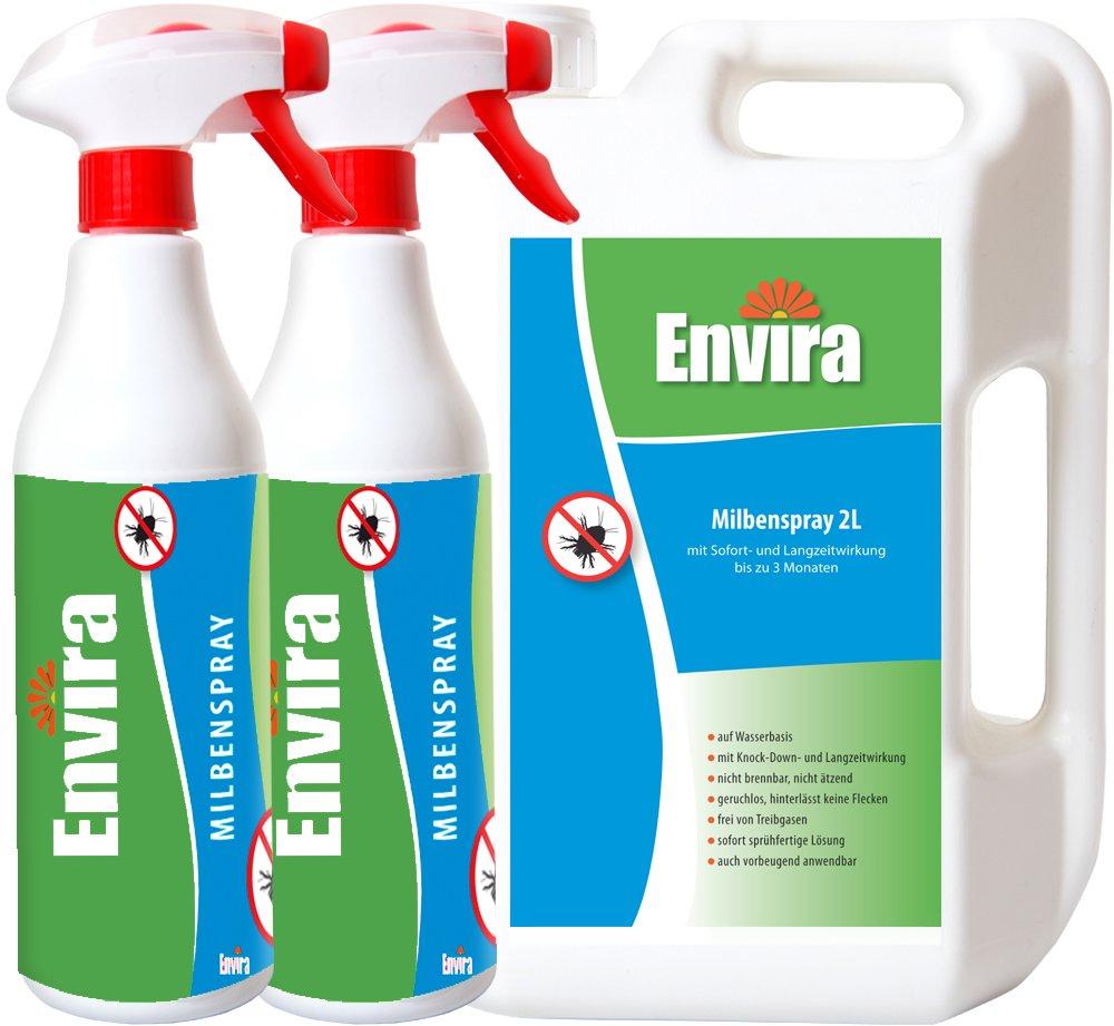 ENVIRA gegen Milben 2Ltr+2x500ml