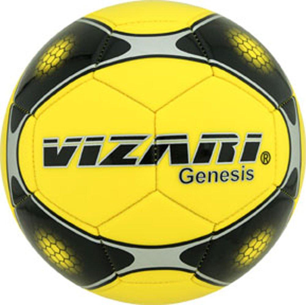 Vizari Genesisボール B00R92B2SQ Size 5|イエロー イエロー Size 5