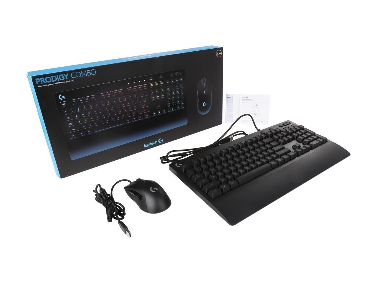 Logitech Prodigy G403 Gaming Mouse & G213 Gaming Keyboard Combo