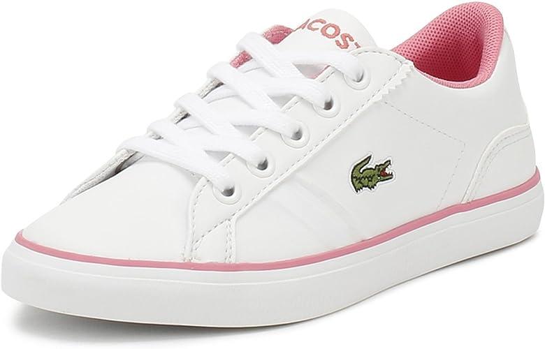 Lacoste Junior White/Pink Lerond 218 2