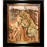 overstockArt the Avenue, c. 1922 by Alice Bailly Framed Hand Painted Oil on Canvas