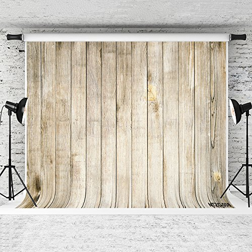 Kate 20x10ft Wood Backdrops for Photography Retro Wooden Wall Background Prop Photo Studio Backdrops by Kate