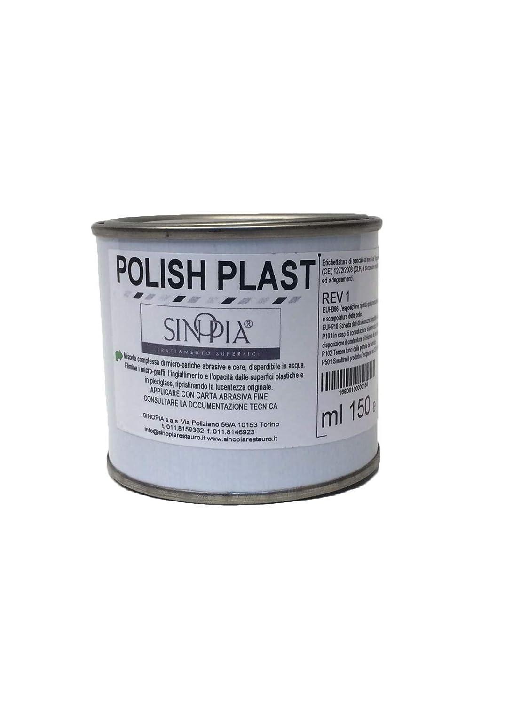 SINOPIA Polish PLAST rinnova fanali - conf. 150 ml SINOPIA SAS