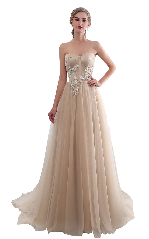 Sweetheart Neckline Wedding Dress.Ruolai A Line Wedding Dress Lace Birdal Gown Sweetheart Neckline