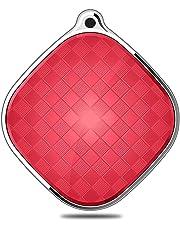 BINDEN Mini Rastreador GPS A9 con Seguimiento en Tiempo Real, Ideal para Niños, Autos, Seguir Objetos o Personas; App Disponible para iOS y Android - Rojo