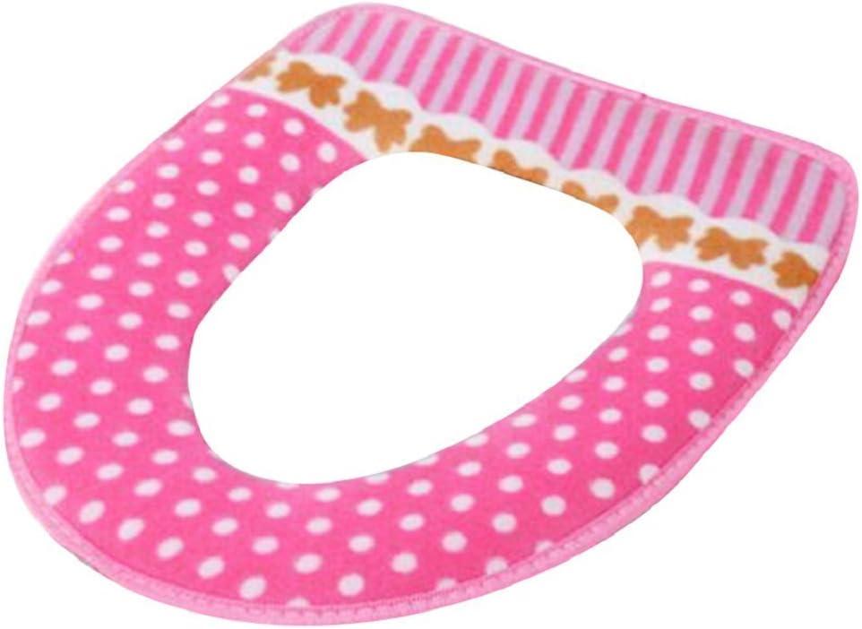 Bodhi2000//® doux et chaud pour abattant WC Abattant WC Tapis de mousse pour couvertures lunette WC
