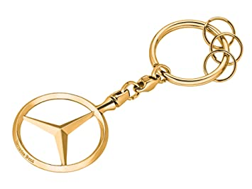 MB Original Mercedes-Benz Llavero Bruselas, Oro: Amazon.es ...