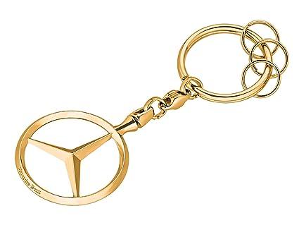 MB Original Mercedes-Benz Llavero Bruselas, Oro: Amazon.es ...