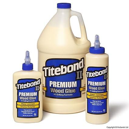 Titebond Ii Premium Water Resistant Wood Glue 16 Fluid Ounce