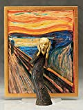 FREEing Table Museum The Scream Figma Action Figure
