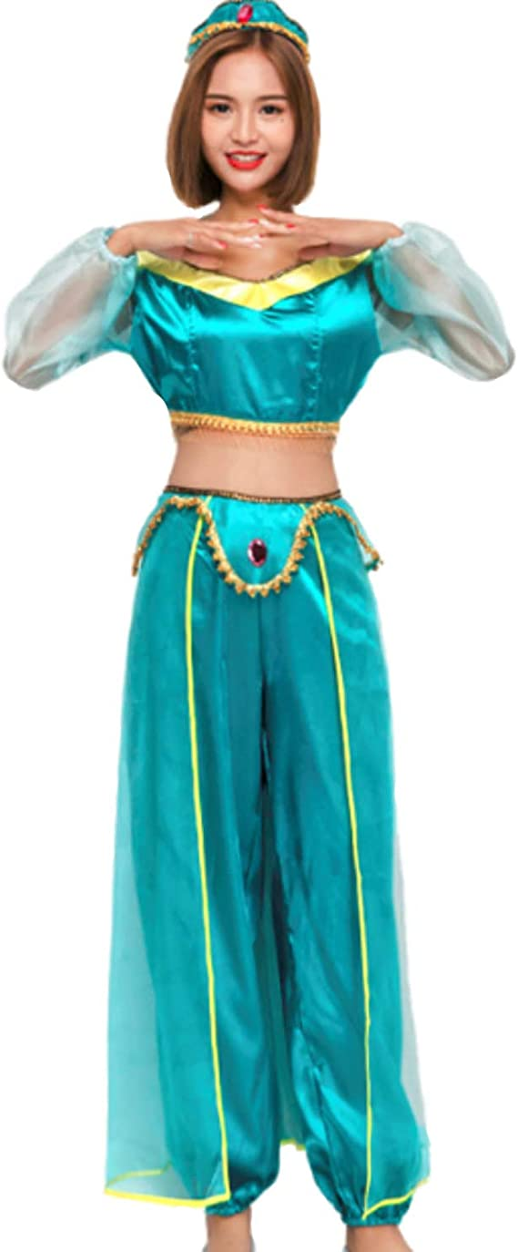 Mitef Disfraz De Princesa Arabe Egipcia Fiesta Halloween Cosplay ...