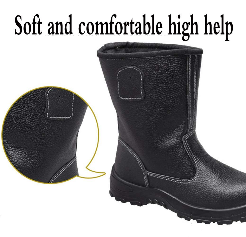 RSHENG Schuhe Für Arbeitsstiefel Arbeitsstiefel Arbeitsstiefel Für Männer Aus Stahlkappe Industrie- Und Konstruktionsschuhe Pannenschutzschuhe 73f510