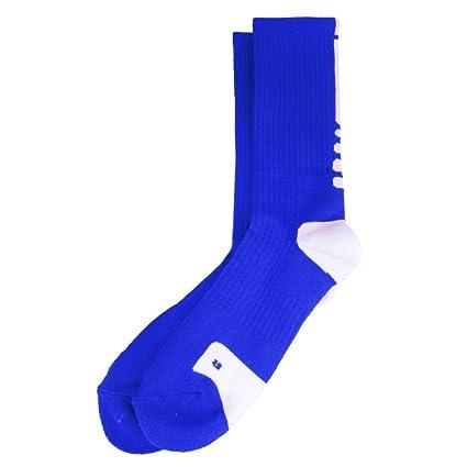 Baoblaze Calcetines de Deporte de Baloncesto de Hombres Secado Rápido - Azul