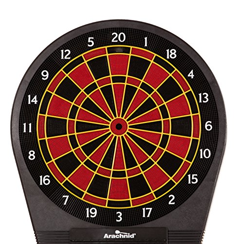 Arachnid Cricket Pro Tournament-quality Electronic Dartboard with Micro-thin Segment Dividers for Dramatically...