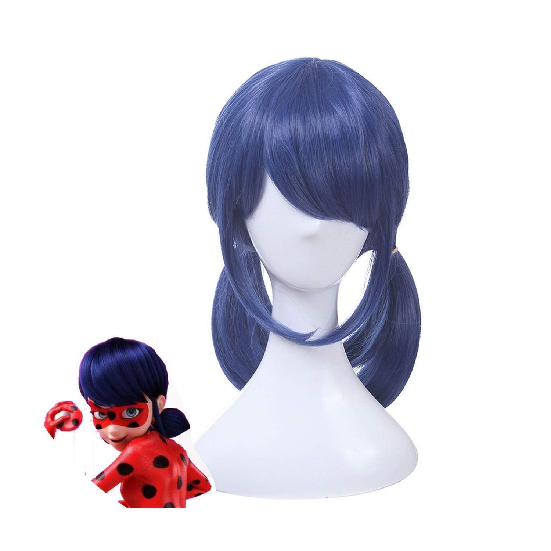 gift  wigs cap Medium Purple Raven From Teen Titans Cosplay Wig