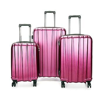 Viaje llevar equipaje de cabina Juego de maletas giratorias para mujeres 20 pulgadas 24 pulgadas 28