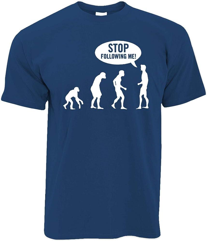 MiMiTee Stop Following me Camiseta Casual de algodón Hombres ...
