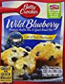 Betty Crocker Wild Blueberry Muffin & Quick Bread Mix, 16.9 oz Box