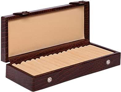 Laveri Ring Storage Box, Brown