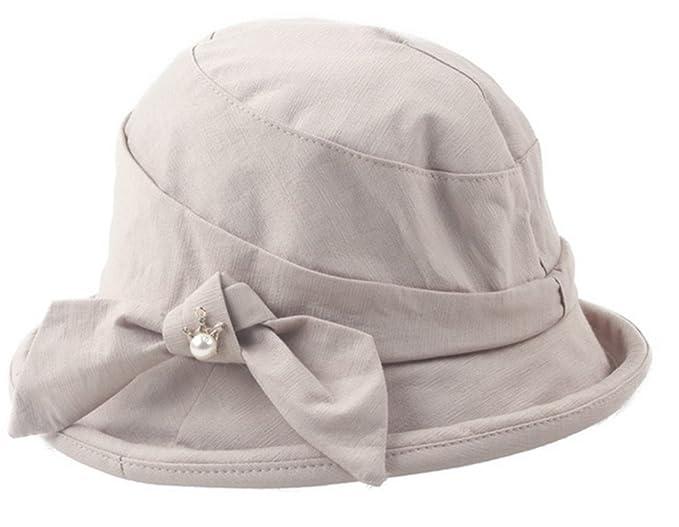 ec36bf97d Amazon.com: Freedi Womens Sun Hat Foldable Canvas Large Wide Brim ...