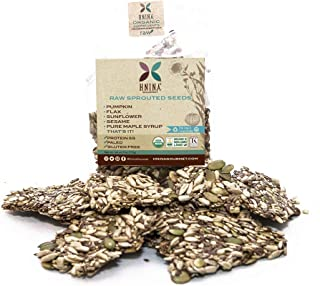product image for HNINA Gourmet Raw Sprouted Seeds Crackers (4 oz)