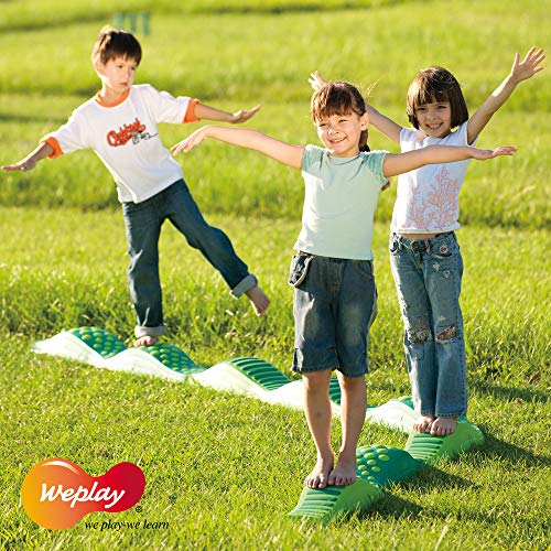 Weplay Wavy Tactile Path, Green by Weplay (Image #3)