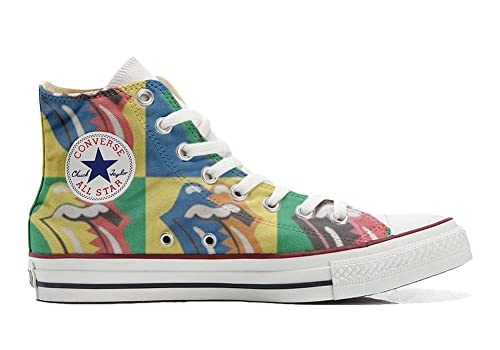 Customized All Converse ArtesanoRolling Stones Personalizados Star Zapatosproducto OuTPXZwki