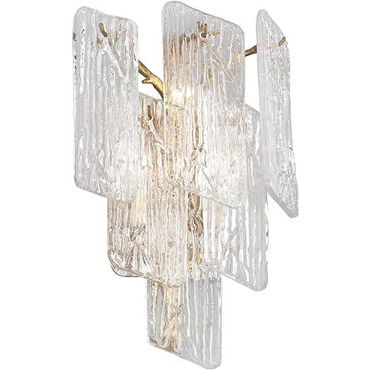 Amazon.com: Wall Sconces - Lámpara de pared con 3 bombillas ...