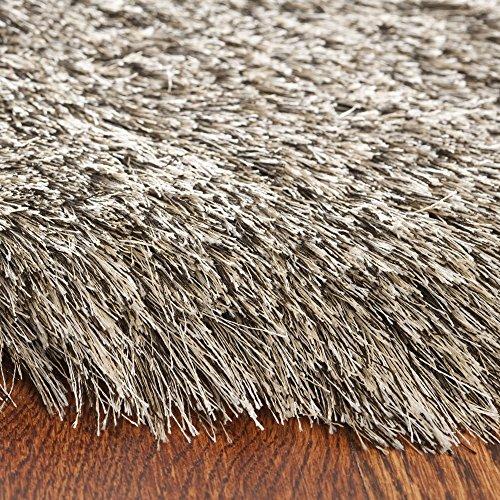 amazoncom safavieh paris shag collection sg5119292 sable polyester area rug 8u0027 x 10u0027 kitchen u0026 dining