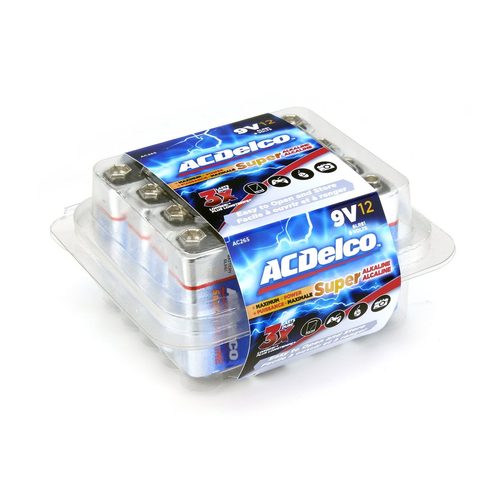 Amazon Com Acdelco Aa Batteries Super Alkaline Aa