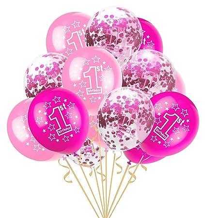 Shuda - 1 juego de globos de helio - Kit de cumpleaños ...