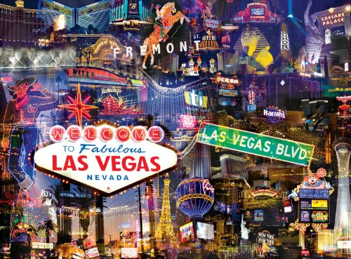 Buffalo Games City Collage, Las Vegas - 1000pc Jigsaw Puzzle